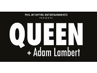 Queen and Adam Lambert ticket - Birmingham 16th December - £110