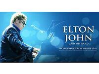 ELTON JOHN TICKETS - BIRMINGHAM GENTING ARENA - 7TH JUNE 2017 - £100 EACH