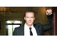 Russell Watson, Birmingham Symphony Hall, Wed, 3 May 2017, 2x Front Row tickets