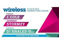 2 * Friday VIP tickets to Wireless in Finsbury pk - 6th July 2018