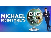 Michael McIntyre tickets - Liverpool 27th April - 4 available - £55 each