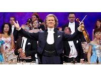 ANDRE RIEU TICKETS x 4 - BIRMINGHAM GENTING ARENA - 22nd March 2017 - £110 EACH