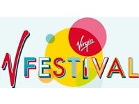 V FESTIVAL WESTON PARK 19TH AUGUST - 2 TICKETS - WEEKEND NO CAMPING - £180 each
