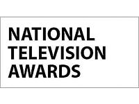 National Television Awards -Tues 23 Jan 2018, O2 Arena, London. 2x Tickets for Sale