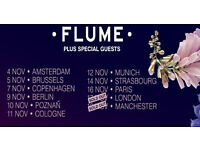 6 x Flume Tickets - The Warehouse Project, can deliver to the stockport area or meet in town.