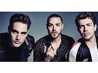 2 BUSTED TICKETS ROYAL ALBERT HALL STALLS SEATS £45 ONO