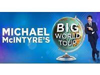 Michael McIntyre ticket - Sheffield 23rd June - £60