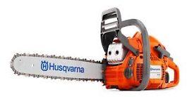 "Husqvarna 450 18"" 50cc chainsaw"