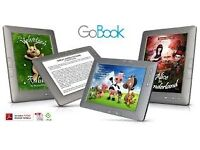 *New* Boxed GoBook touch screen colour eBook Reader