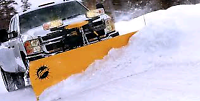 Snow plows/removal