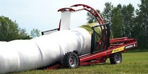 Custom Hay, Cutting, Baling and Wrapping