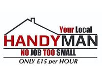 RELIABLE PROFESSIONAL HANDYMAN , WEST YORKS AREA, MULTITUDE OF SKILLS, INTERNAL AND EXTERNAL WORK.