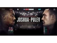 Anthony Joshua v Kubrat Pulev - 2 x Superior Hotel Rooms - 28/10/17