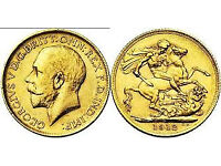 wanted gold sovereigns