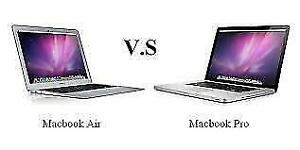 Macbook air and pro full service