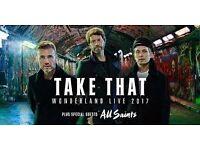 Take That Wonderland Tour, Norwich, VIP Standing Tickets