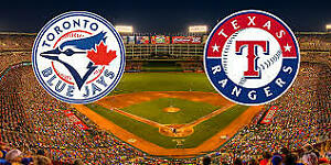 Blue Jays vs. Rangers – August 12….200's, Row 1, Aisle