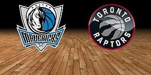Raptors vs Mavericks - Fri. Oct 26 (Upper & Lower Bowl Tickets)