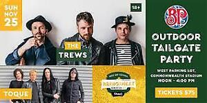 Grey Cup 2018, Tailgate Party plus Park and Ride.