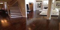 Floor Refinishing! Make your floors look new for Christmas