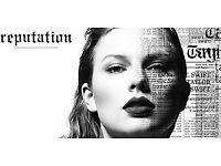 Taylor Swift Reputation Tour: Wembley Tickets 22nd June - good seats