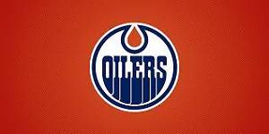 Edmonton Oilers Season Ticket - 1/4 Share - LOWER BOWL