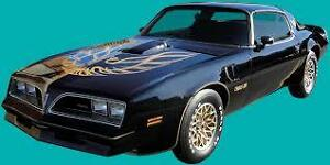 I AM LOOKING FOR CAMARO, FIREBIRD AND TRANS AM CASH PAID