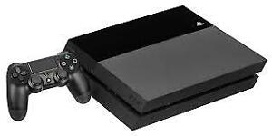 Playstation 4 (1TB) with controller (black)