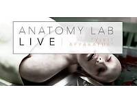 2 TICKETS- ANATOMY LAB LIVE