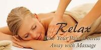 Welcome Our New Practitioner $59.95/HR Relaxation Massage