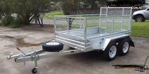 8x5 tandem  heavy duty with ramp come in 7x4,8x5 single axle Dapto Wollongong Area Preview