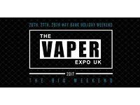 Vape Expo Birmingham NEC 2017 - Sunday Tickets