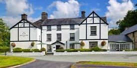 Full time, Cook / Chef 5 days per week, at the Brigands Inn, Mallwyd