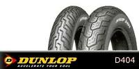 DUNLOP D404 -TIRE FRONTS OR REARS