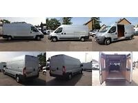 From £15 Man with van,24/7 short notice ,van hire,office move london uk 100% positive feed back