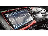 Vehicle Fault Code Diagnostics. Car Engine Management Lights read
