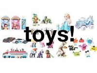 toys wanted