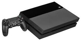 BLACK PLAYSTATION 4 SLIM 500GB WITH CONTROLLER