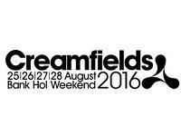 2 x Creamfields Tickets