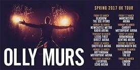 4 tickets to see Olly Murs at Sheffield Arena