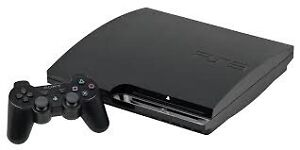 PS3 BLACK 500GB FOR SALE !! USED ONCE LIKE NEW