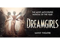 DreamGirls Theatre Tickets Sat 6th May (2 adults- great seats)
