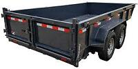 Dump Trailer Rental Services (Book Now Great Rates)