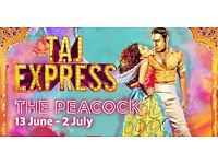 5 x Taj Express Bollywood Musical Tickets, Sunday 18th June @ 6pm