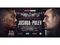 Anthony Joshua vs Kubrat Pulev Tickets - Cardiff