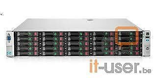 HP Proliant DL380p G8 SFF 25xBays/2x I-Xeon E5-2670 2.6GHz/192GB/P420i/1x750W