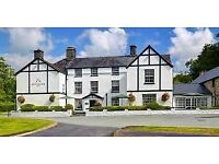 Managment trainee Front of House, Live in The Brigands inn Snowdonia
