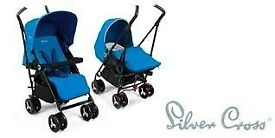 Silver Cross Reflex Stroller/Pushchair. Suitable from birth