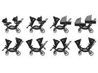 Obaby abc zoom double buggy
