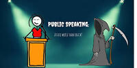 Public Speaking Phobia/Speech Anxiety? I can help!